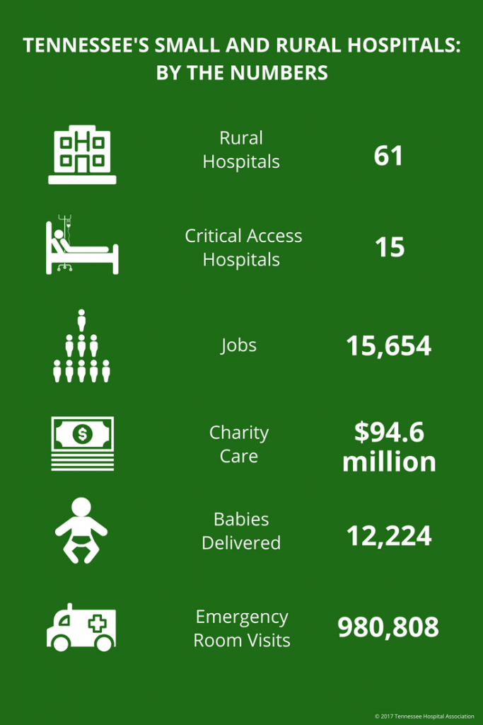 Small and Rural by the Numbers Graphic